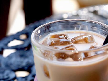 Ice cafe au lait. 02