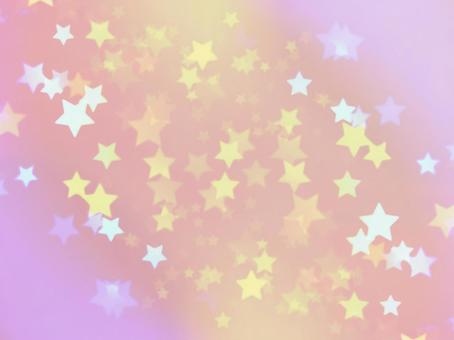 Background material · design · pale pink stars