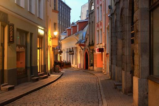 Town of Tallinn (Estonia)