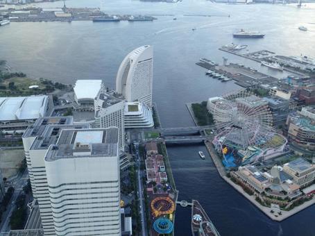 Minatomirai aerial photography
