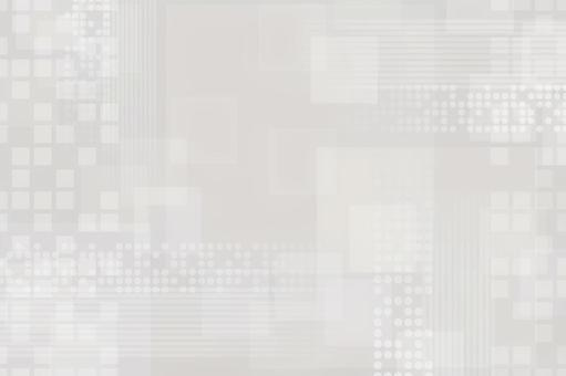 Gray texture with continuous circles, squares and lines