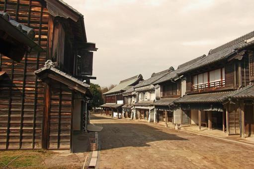 Old townscape (Boso-no-mura) # 7