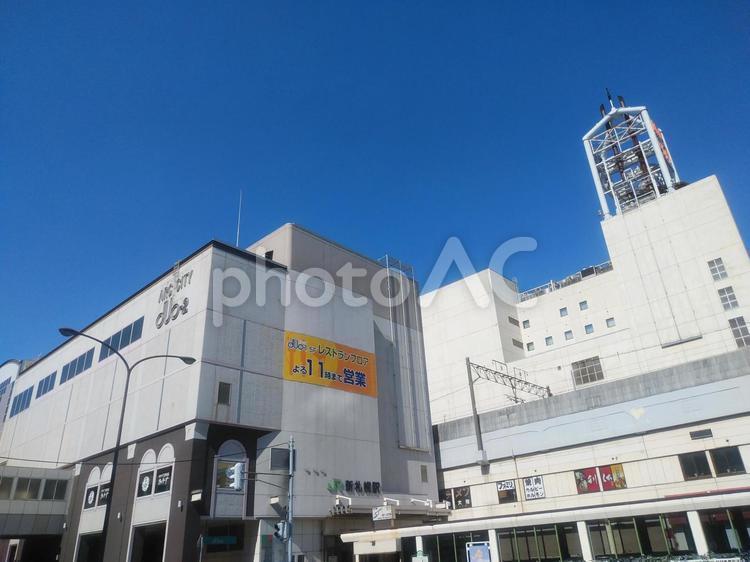 JR北海道千歳線新札幌駅の写真