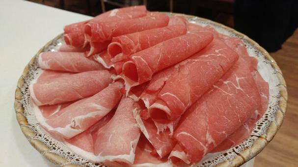 샤브샤브 고기