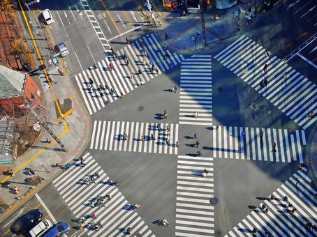 Sukiyabashi intersection 1