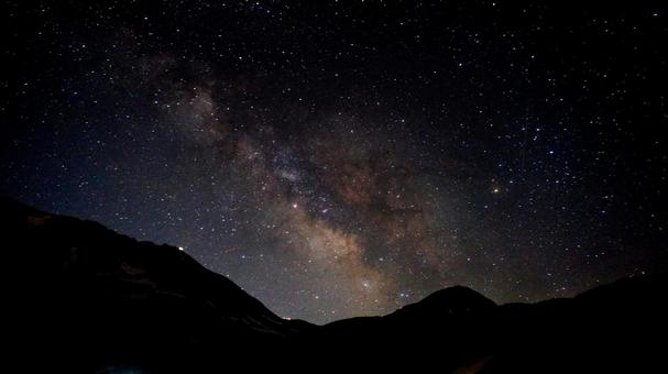 Milky Way 2 seen in Tateyama