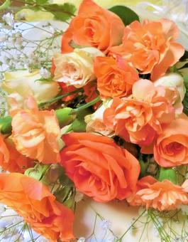 Cheerful bright bouquet