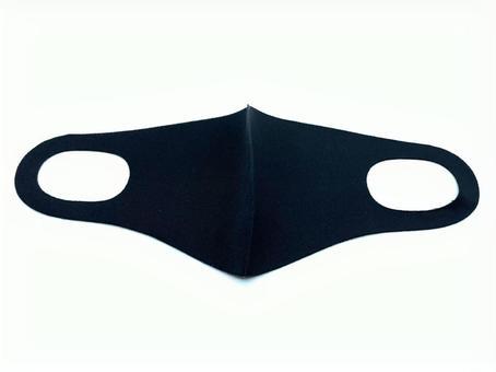 Urethane mask: black open version