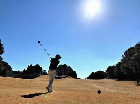 Winter fine golf 1