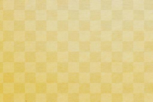 Background texture Checkered pattern Plaid Japanese pattern Japanese style Luxury golden gold folding screen Gold paper New Year's card New Year's Japanese paper