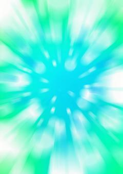 Blue background light radiation