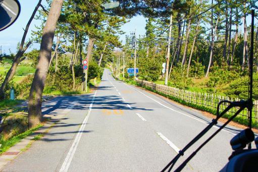 公共汽车在乡下跑的公共汽车窗户