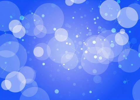 Glittering background blue