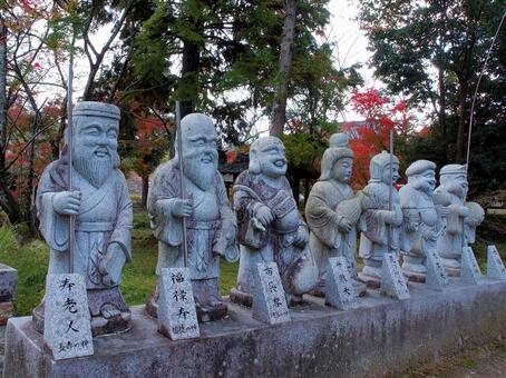 Hofukuji Seven Lucky Gods