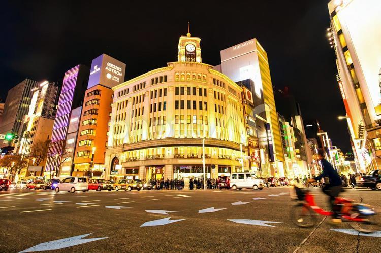 東京都中央区銀座の写真
