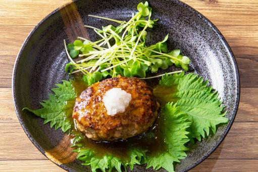Japanese style hamburger