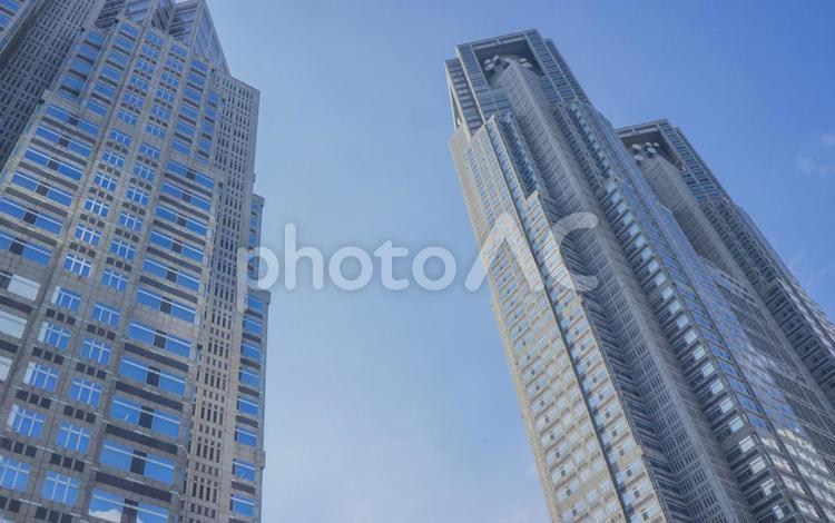 青空と都庁 #1の写真