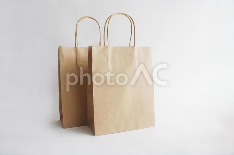 手提げ袋ヨコの写真