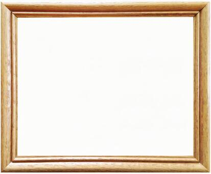 Wooden frame with clipping path Shiraki