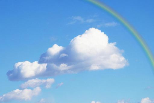 푸른 하늘과 무지개 1