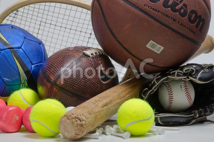 スポーツ用品の写真