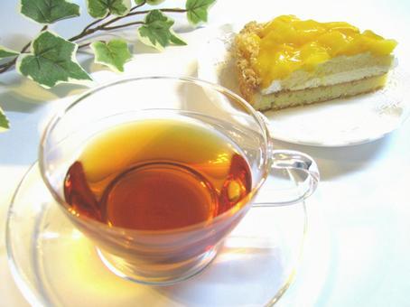 Tea time 5 mango cake