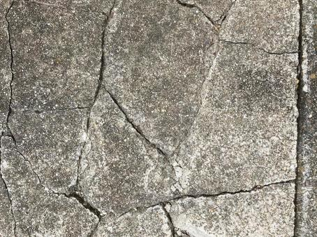 Cracked old concrete texture material _b_15