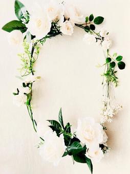 Flower frame vertical