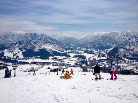 Niigata ski slope