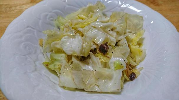 Anchovy cabbage