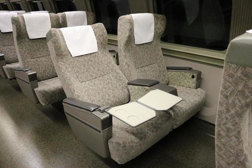 Shinkansen seat