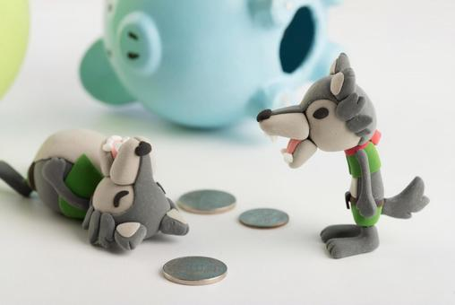 Wolf and pig 7