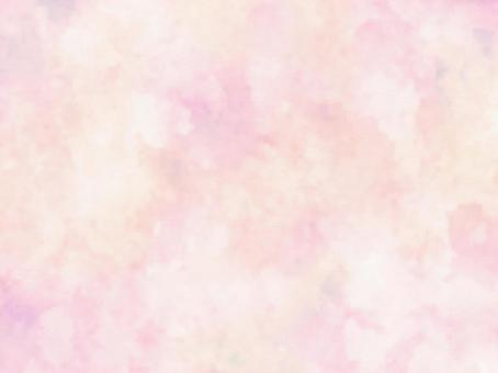 Watercolor-like texture (pink)