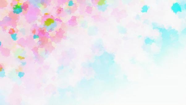 텍스처 벚꽃 하늘 추상 이미지