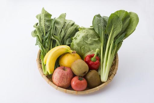 Vegetables and fruits Fresh vegetables