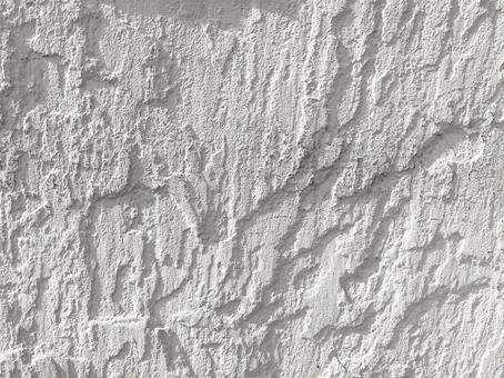 White wall embossing