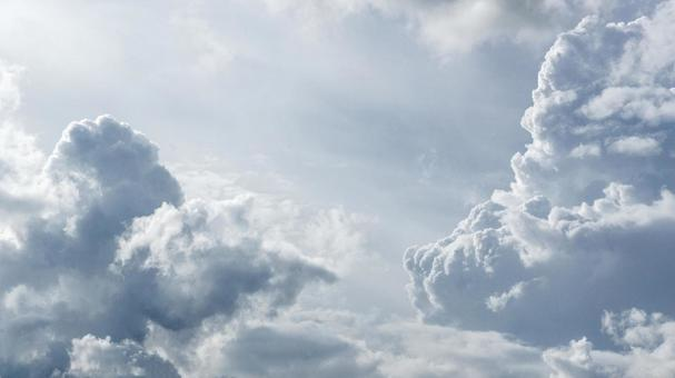The divine sky and clouds