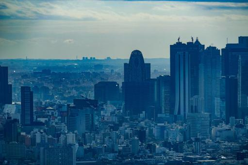 Cityscape of Shinjuku (from the observatory of Sunshine 60)
