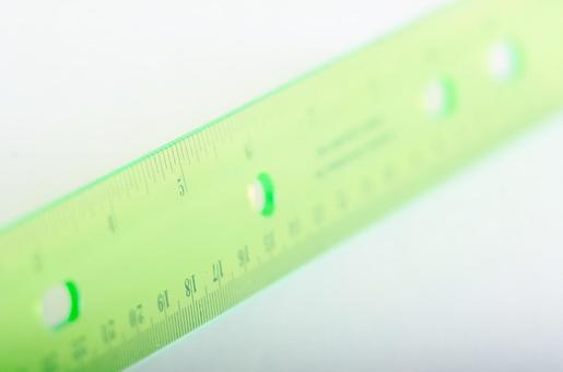 Scale of ruler 11