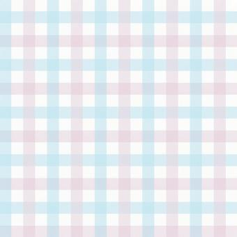 Gingham check pink & light blue background texture