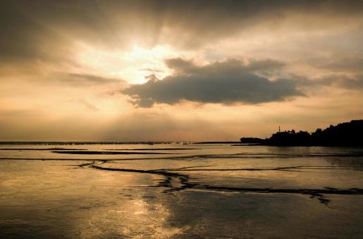Ariake Sea tidal flat