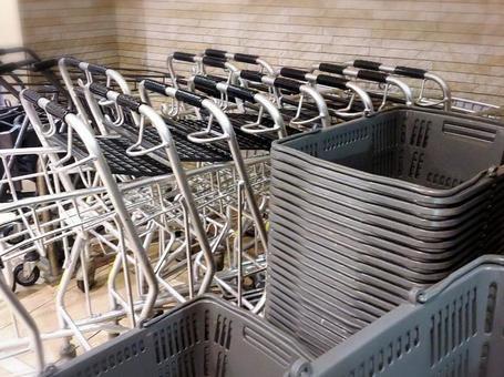 Super shopping cart and cart