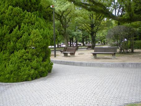 In Hiroshima Peace Park