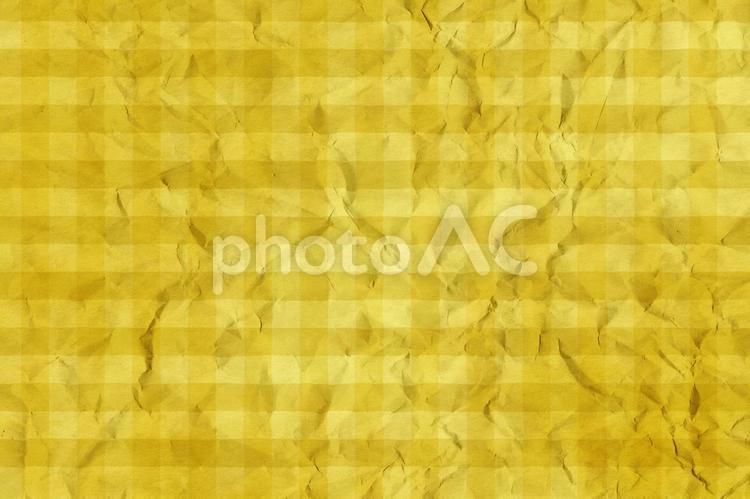 しわのある和紙 彩雲 ギンガムチェック柄 ちぢれ 凸凹 テクスチャ 51の写真