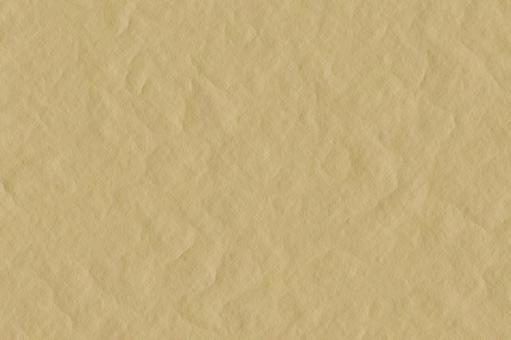 Wrinkled kraft paper texture image background material