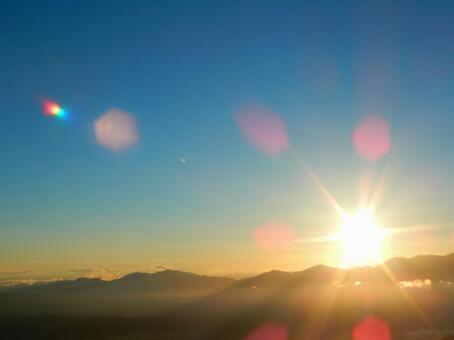 Morning View Project · Nagano (Asahi seen from Mikasan)