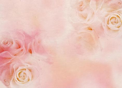 Rose background _ Pink Japanese paper