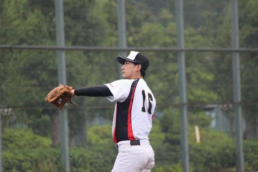 Male person baseball sports pitcher