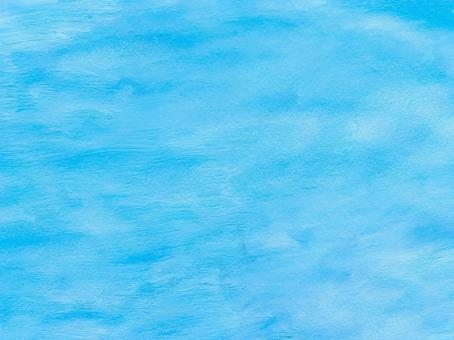 Light blue watercolor paper texture background material