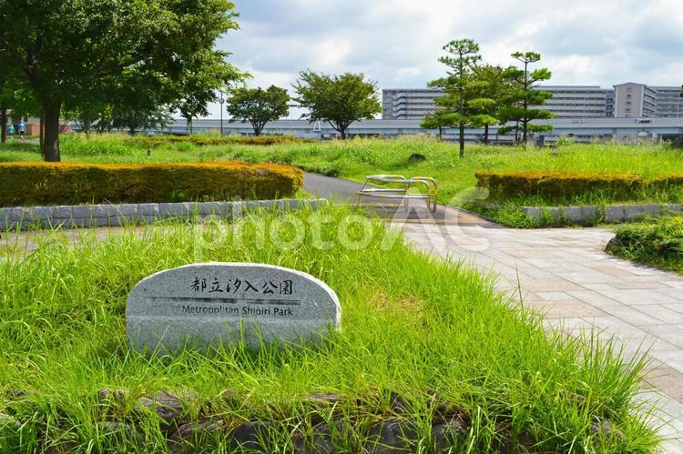 都立汐入公園 荒川区南千住にての写真